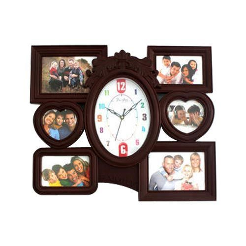 Photo Frame Wall Clock at Rs 300 /piece | Photo Wall Clock | ID ...
