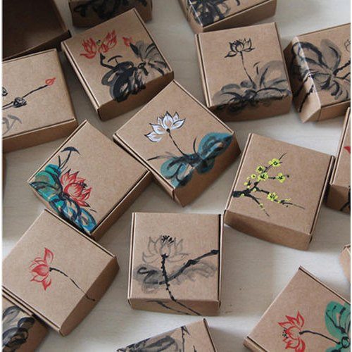 Brown Printed Paper Box, Rs 30 /100 boxes Sachdeva Enterprises | ID:  16537818791