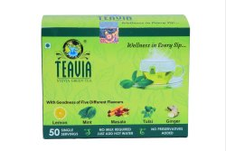 Mint Herbal Stevia World Teavia- Stevia Green Tea Natural Flavours, Bangalore, Leaves