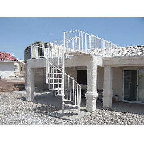Exterior Spiral Staircase | Sri Bhuvaneswari Enterprises ...