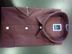 Stripes Half Men Cotton Shirts