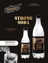 Vanguard soda, Packaging Size: 200 ml and 300 ml