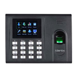 Identix Biometric Attendance System