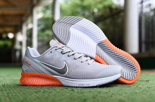 Men White Nike Sports Running Shoes