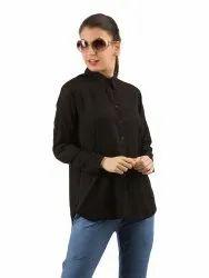 Classic Long Sleeve Black Shirt