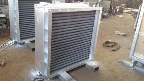 FINNED TUBES AIR HEATER