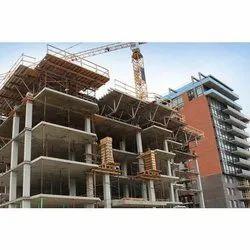 Concrete Frame Structures Marble Commercial Complex Construction Service