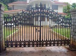Cast Iron Grill Gate