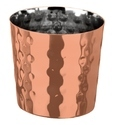 Hammered Chip Cup Dia8.5 Copper Coated