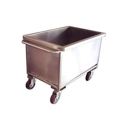 SS Rice Kitchen Trolley