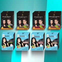 Herbal Henna Dye, Box, Packaging Size: 10 Gm X 6