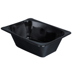 Black Disposable Pasta Tray