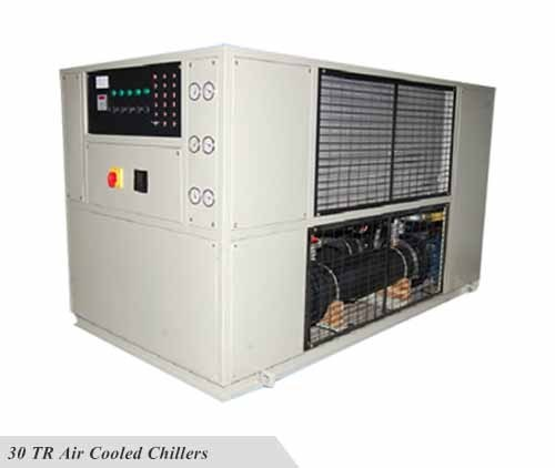 Capacity: 30 Ton ACS Chillers 30 TR Air Cooled Chillers, Semi-automatic, Rs  925000 /piece | ID: 17623003912