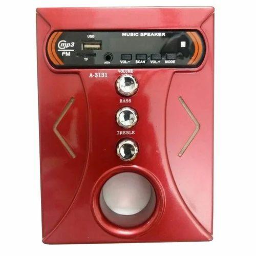 J.A.B. Enterprises Nano Red Home Stereo Panel