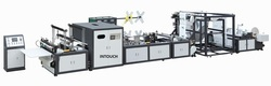 Automatic Box Type Non Woven Bag Making Machine with Online Handle Attached