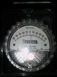 Sensocon Usa Differential Pressure Gauge 0 To 50 Mm Wc
