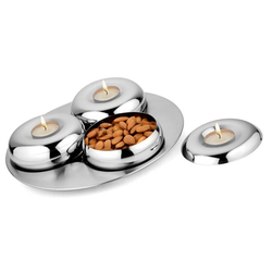 Set Of 3 Bowl With Tray