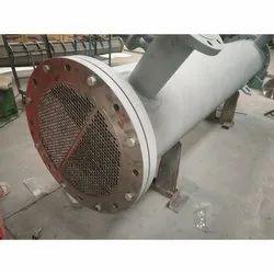 Grey Mild Steel Industrial Shell And Tube Heat Exchanger, 7.5-110kw, 220v/380v