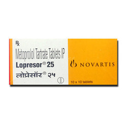 Lopresor 25 Mg Tablets