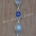 Amethyst Gemstone Handmade Jewelry 925 Silver Bracelet