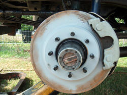 Four Wheeler Brake Assembly