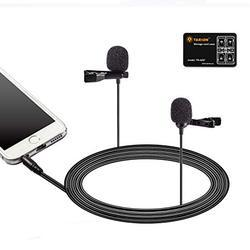 Boya Lm400 Dual Clip Microphone At Rs 3500 Piece Collar Mic Id