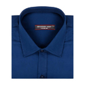 Mens Blue Premium Formal Shirt