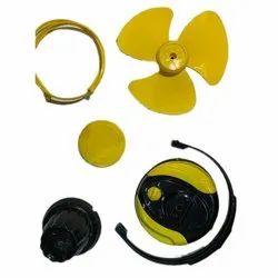 Yellow,Black AP Table Fan Kit