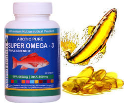 HealthViva Aurohealth Triple Strength Omega 3, Packaging Size Available: 60 Caps, Capsules