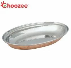 Choozee - Steel Copper Oval Donga (Small)