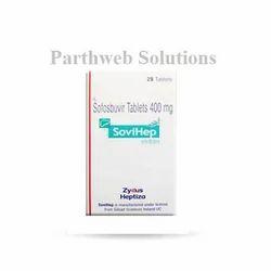Sovihep 400mg tablets