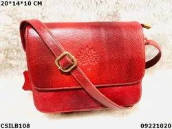 Trendy Leather Sling Bag