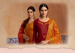 Mahotsav Vol 4-Kessi Traditional  Jam Silk With Banarasi Dupatta Designer Salwar Suits