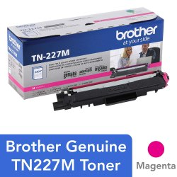 Brother Genuine TN-227M High Yield Magenta Toner Cartridge