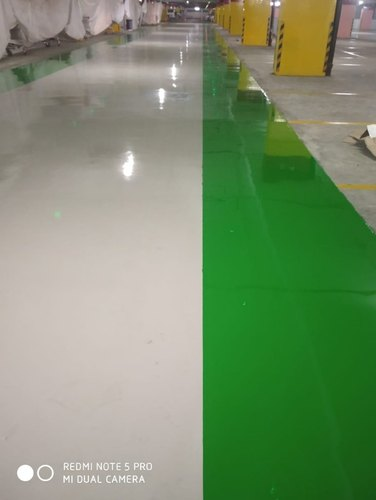 Corporate Building Esd Epoxy Flooring Rs 80 Square Feet