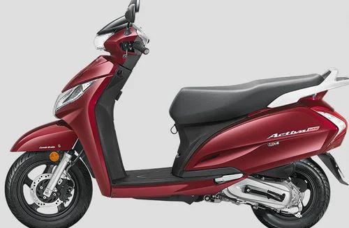 Rebel Red Metallic Honda Activa Scooter 125 Activa 125 Drum Rs