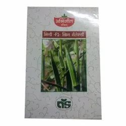 Abhijeet Seeds Bhindi F1 Queen Galaxy Seeds, Pack Size: 250 G