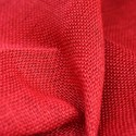 Red Jute Fabric