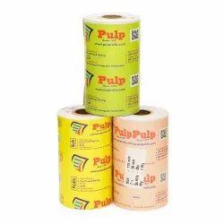 Width: 115 mm Dia: 70 mm 1 Ply PULP Dot Matrix Paper Rolls