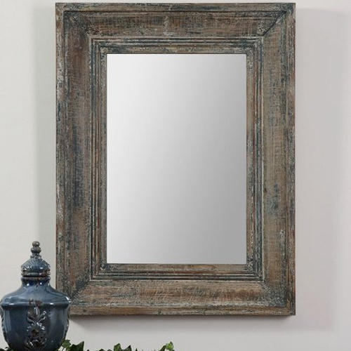 Wooden Frame Mirror at Rs 350 /square feet | Wall Mirror | ID ...