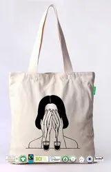 Biodegradable Cotton Printed Bag