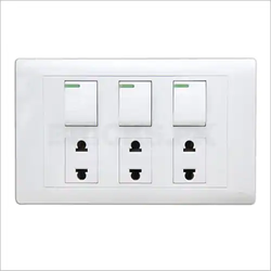 White Electrical Switch Board Panel, IP Rating: IP40