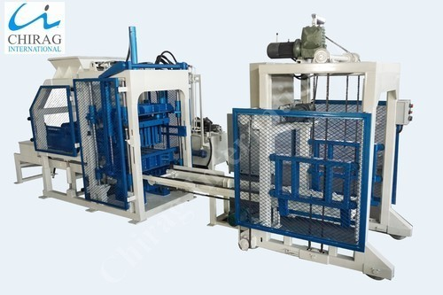 Automatic High Density Brick Making Machine