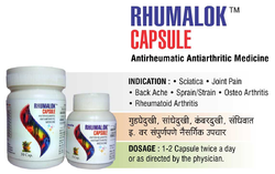 Rhumalok Capsules, Prescription