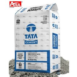 Tata Ordinary Portland Cement, Packaging Size: 50 Kg, Cement Grade: Grade 53