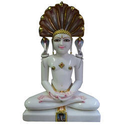Marble Lord Jain Parshwanath Statue