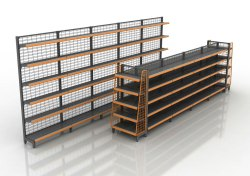 Mild Steel Industrial Racks