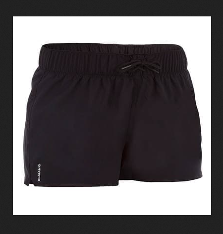 9d5e7acdbc Polyester Plain Decathlon Tana Women's Boardshorts - Black, Rs 299 ...