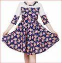 Designer Yoke Dress