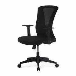 Nilkamal Black Lexa Office Chair